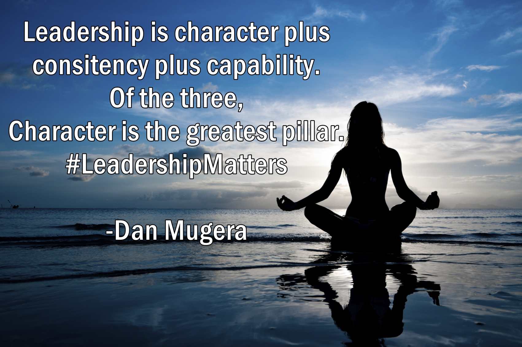 Quotes by Dan Mugera, leadership quotes