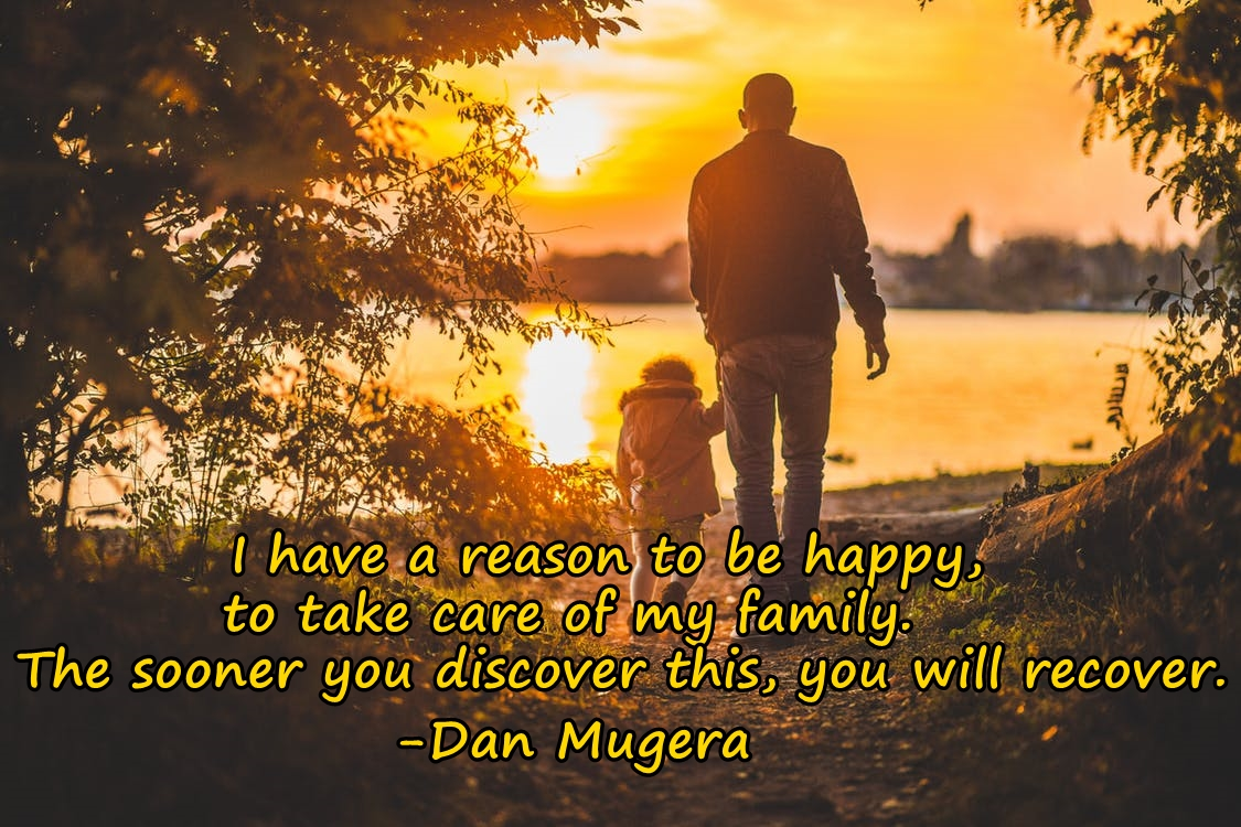 Quote by Dan Mugera, happiness quotes, family quotes, Dan Mugera Quotes