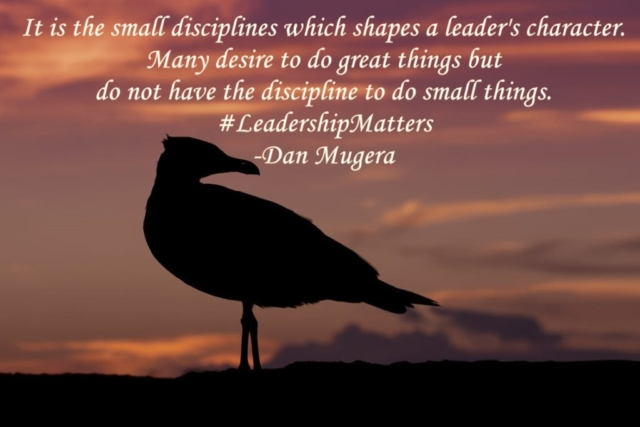 Quotes by Dan Mugera, discipline quotes